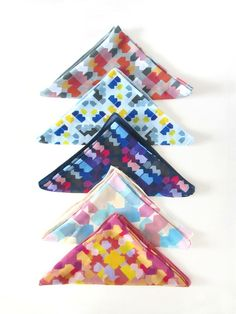 Scarves by the lovely Ana Montiel for La Casita de Wendy's Crafter Project