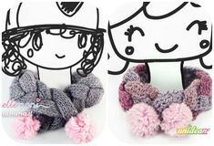 Come fare sciarpa per bambini facile a maglia o a uncinetto Spiegazioni in italiano #tutorial #crochet #knitting