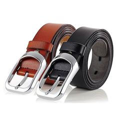 Genuine leather high quality soft and smooth leather belt stainless alloy buckle leather belt for men women black brown cheap leather belt from Sydney Australia Leather Belts, Cowhide Leather, Business Dresses, Brown Belt, Men And Women, Smooth Leather, Belt Buckles, Black And Brown, Australia