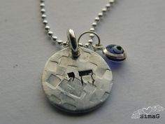 Hebrew word on this classy necklace read Chai   Life  BY by Simag, $40.00