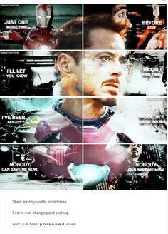 "Tony Stark (""Battle Cry,"" Imagine Dragons)"