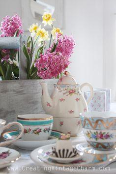 Creating Vintage Charm: Time For Tea!