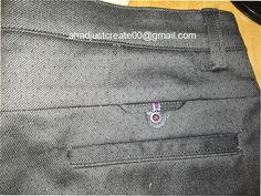 Formal Pants, Cotton Pants, Trouser Pants, Work Wear, Mens Fashion, Pocket, Project Ideas, Craft Ideas, Detail