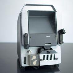 Braun SB 1 for 8 mm movie cutting