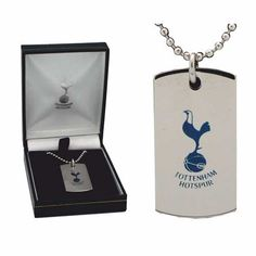 Engraved Tottenham Dog Tag which can be personalised from http://giftsonline4u.com/tottenham-gifts.htm