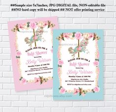 Retirement party invitation wording christian back to 80th baby shower merry go round girl baby shower carousel filmwisefo