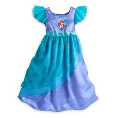 Ariel Nightgown for Girls