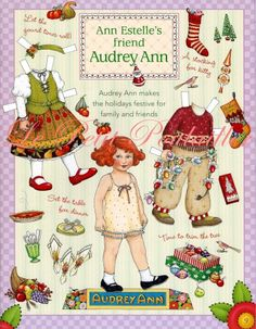 Holidays 2001 Audrey Ann Paper Doll from Mary Engelbreit's 'Leading the Artful Life' Newsletter