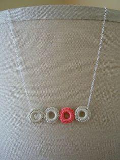 Crochet Tutorial Collier Anneau