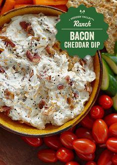 Bacon & Cheddar Dip