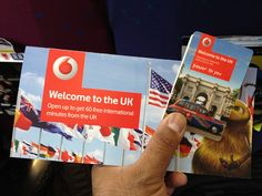 VODAFONE (Best): In a perfect example of why timing matters, Vodafone had staff walk through the Heathrow Express train offering SIM cards to travelers with 60 minutes of free calling. Not only do they solve a customer problem (before they even arrive in London from the airport), but they make it far more likely that any traveler will use a Vodafone SIM and account for their entire stay. Brilliant strategy.