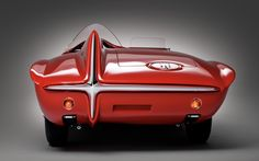The Plymouth XNR was a concept car developed c 1960 by Chrysler and Plymouth and designed by Virgil Exner as a sports roadster to add to the Plymouth line and possibly compete with the Ford Falcon and the Chevrolet Corvette. Lamborghini, Ferrari, Plymouth, Us Cars, Sport Cars, Classic Sports Cars, Classic Cars, Jaguar, Automobile