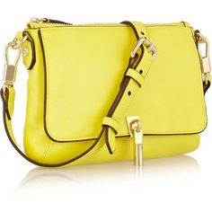 Elizabeth and James Cynnie Micro leather shoulder bag
