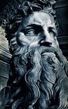Michelangelo, Mozes (1513-1516) | Sint-Pieterskathedraal, Vaticaanstad