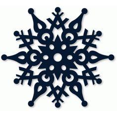 Silhouette Design Store: nordic snowflake Diy Christmas Snowflakes, Christmas Stencils, Christmas Svg, Christmas Ornaments, Snowflake Ornaments, Xmas, Silhouette Design, Silhouette Cameo Projects, Front Door Christmas Decorations