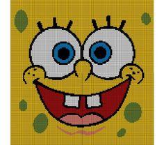 Spongebob Squarepants Crochet Pattern Afghan Graph > Loopaghans > Goodsmiths