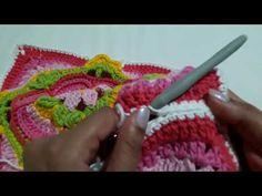 YouTube Granny Square Tutorial, Knitting Videos, Fingerless Gloves, Arm Warmers, Crochet, Youtube, Scraps Quilt, Knitting Squares, Fingerless Mitts