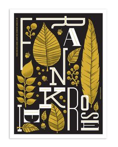 Frankie Rose poster by Tad Carpenter Creative