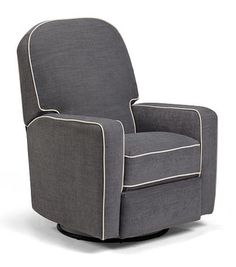 Best Chairs Blain Swivel Glider Recliner Steel