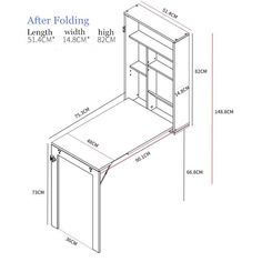 Space Saving Furniture, Dining Room Furniture, Diy Furniture, Furniture Design, Wall Mounted Dining Table, Dining Table In Kitchen, Diy Storage Ideas For Small Bedrooms, Office Table Design, Woodworking Desk Plans