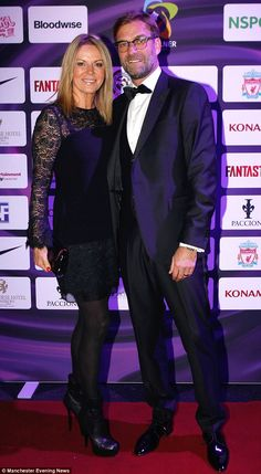 Night off from work: Liverpool boss Jurgen Klopp, who was with his wife Ulla, no doubt kept an eye on his team Liverpool Captain, Liverpool Football Club, Juergen Klopp, James Milner, Liverpool Fc Wallpaper, S Star, Manchester, Soccer, Celebrities