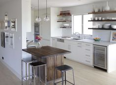 Awesome Small Kitchen Decor With Corner Open Shelving Kitchen Feat