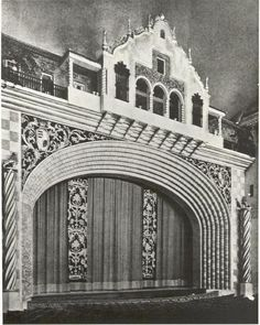 """The Astoria Theatre, in the inner north London distict of Finsbury Park opened on September 1930 with Ronald Coleman in """"Condemned"""" and Greta . Finsbury Park, Old London, Moorish, Old Things, Cinema, Scene, Architecture, Pictures, Photos"""