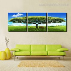 Match the interiors of your home with this multipanel tree of life statement art print.  #livingroomdecor #artwork #onlineshop #homeinteriors Canvas Pictures, Pictures To Paint, Stretched Canvas Prints, Canvas Art Prints, Online Art Store, 3 Piece Canvas Art, Botanical Wall Art, Big Tree, Painting Frames