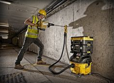 Dewalt Power Tools, Cordless Tools, Dust Collector, Pipe Dream, Work Tools, Tool Storage, Organizations, Carpentry, Pouches