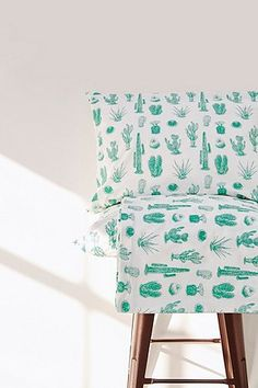 Shop Cactus Print Duvet Set at Urban Outfitters today. Home Bedroom, Girls Bedroom, What To Take Camping, Urban Outfitters, Camping Aesthetic, Cactus Print, Apartment Interior, Duvet Sets, Decoration