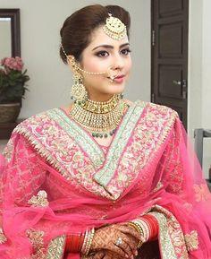 Pinterest: @pawank90 Desi Bride, Desi Wedding, Wedding Suits, Wedding Beauty, Wedding Wear, Wedding Bride, Wedding Dresses, Bridal Mehndi Dresses, Indian Bridal Lehenga
