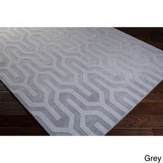 Hand Loomed Daix Solid Tone-On-Tone Area Rug