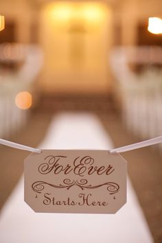 Items similar to Church Wedding Aisle decoration - Forever Starts Here - Rustic Wedding Signs - Whimsical Wedding Sign Romantic Wedding Sign Vintage Wedding on Etsy Vintage Wedding Signs, Whimsical Wedding, Handmade Wedding, Wedding Show, Dream Wedding, Wedding Ideas, Wedding Album, Boho Wedding, Wedding Inspiration