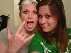 Me and My daughter Amanda about a week before she died. I was on my way to a rock concert, She was my best friend. Isn't she beautiful!?
