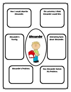 Emergency Substitute Lesson Plans, K-1/Alexander and the