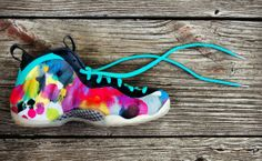 "Nike Air Foamposite One ""Colorful Asylum"" Custom"