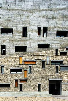 Wang Shu of Amateur Architecture Studio | 'Ningbo History Museum' | 2008 | Ningbo, China | http://www.chinese-architects.com/en/amateur