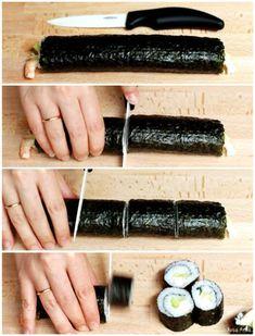Sushi con Thermomix