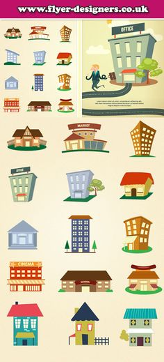 property graphics useful for lettings agency leaflets www.flyer-designers.co.uk #lettingsagency #propertyleaflets #house