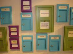 miniature doors and windows at the Kohl Childrens Museum (ExhibiTricks: A Museum/Exhibit/Design Blog)
