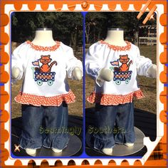 Auburn Tigers Inspired Outfit by SeaminglySouthern on Etsy