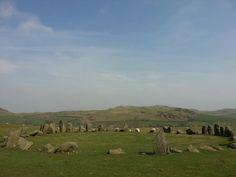Sunkenkirk stone circle. Cumbria.