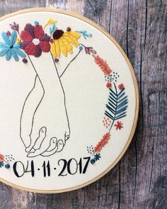how to make hand embroidery patterns Basic Embroidery Stitches, Hand Embroidery Videos, Embroidery Flowers Pattern, Simple Embroidery, Learn Embroidery, Embroidery Hoop Art, Hand Embroidery Designs, Embroidery Techniques, Broderie Simple