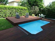 Mobile terrace. Swimming pool surprise.