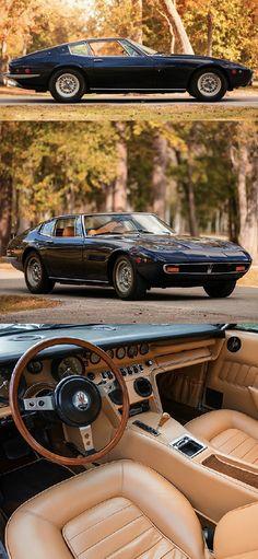 1967-1973 MASERATI GHIBLI V8 GT - coachwork designed by Carrozzeria Ghia of Turin (Giorgetto Giugiaro)