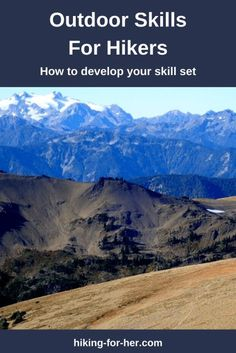 Develop your outdoor skill set as a hiker with tips from Hiking For Her to keep yourself safe. #outdoorskills #hikingskills #howtohikesafely #hikingforher Go Hiking, Hiking Tips, Lightning Safety, Safety And First Aid, Hiking Essentials, Happy Trails, Backpacking Tips, Search And Rescue, Camping With Kids