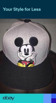 MICKEY MOUSE Walt Disney World LAND Fantasia movie Minnie New MENS HAT Cap 9bbe61225b7a