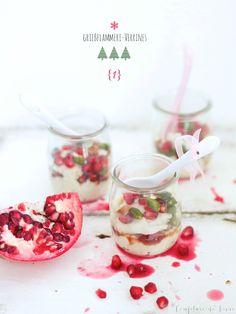 Grießflammeri im Glas – die 13 Weihnachtsdesserts