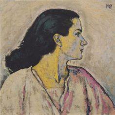Portrait of a Woman in Profile - Koloman Moser