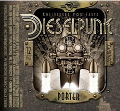The coolest beer label EVER. Diesel Punk, Sucker Punch, Porter Beer, Tribal Fashion, Africa Fashion, Ankara Fashion, Steampunk Fashion, Gothic Fashion, Emo Fashion